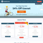 Unlimited Usenet Access €5.99 (~AUD$9.52) Per Month @ Tweaknews