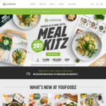 Youfoodz 8 Meals for $50 (Minimum Spending $79.60 before Discount)