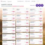 Virgin Australia Happy Hour Sale (Domestic flights e.g. Sydney-Melbourne $99 during July holiday)