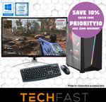 "i7-8700 RTX 2080 31.5"" Agon: $1750.50 / R7-2700 GTX1660 Ti 27"" AOC: $999.9 / R7 2700 + B350MB: $358.20 Delivered @ TechFast eBay"