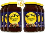 KanTong Cooking Sauces (Various) - 6x 520g Jars - $3.49 + Delivery (Free with Prime/ $49 Spend) @ Amazon AU