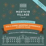 Win a $3,000 Shopping Spree from Merthyr Village