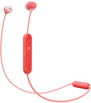 Sony In-Ear Wireless Headphones Red WI-C300R $49.95 Delivered @ Myer