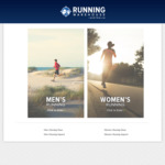 20% off Sitewide (Excludes Electronics, Gift Cards & Some Already Reduced Items) @ Running Warehouse Australia