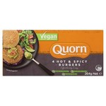 ½ Price Quorn Frozen Vegan Hot & Spicy Burgers $3.50 (Was $7) @ Coles
