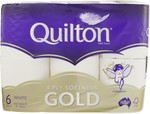 Quilton Gold 4 Ply Toilet Paper 6 Pack (140 Sheets per Roll) $2.50 @ BIG W