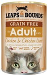 Leaps and Bounds Grain Free Cat Food 12x 365grs $7.99 @ Petbarn