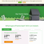 TicToc Home Loans - OO PI - Variable 2.99% (3.00% Comparison Rates). 1 Yr Fixed Rate 3.00% (3.09% Comparison Rate)