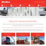 [VIC, QLD, TAS] 10% off Skybus - MEL, AVV, OOL, HBA Airports