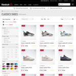 20% off Full Priced Reebok Classic Footwear @ Reebok Australia