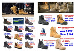 [QLD] Boot, Jogger, Safety, Non-Safety, Composite and Dress Shoes up to 35% off ($10- $70 off) @ City Mitre 10, Brisbane CBD