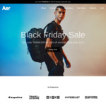 20% off Sitewide + Delivery (e.g. Aer City Sling $70 USD Delivered / ~$103AUD) @ Aersf