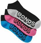 Bonds Women's Socks 3 Pack $6.36 + Delivery ($0 with Prime/ $39 Spend) @ Amazon AU
