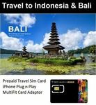 5 Days Indonesia Bali 3GB DataTravel SIM Card $8 + $2.50 Postage @ travelsimcardspecialist eBay