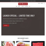 [NSW] Christmas Sale – 15% off All Meats – Wagyu MB9 Scotch Fillet $99.96/kg (Free Sydney Metro Delivery $100+) @ Mr Rou & Co