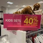 30% off Already Reduced PJs (and 40% off Already Reduced Kids Sets) @ Peter Alexander (MYER)