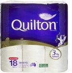 Quilton 3 Ply Toilet Tissue 18 Pack $8 @ Big W (Selected Stores Only - Australia Wide)