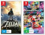 [Switch] Zelda: Breath of The Wild & Mario Kart 8 Deluxe $124.91 Delivered @ The Gamesmen eBay