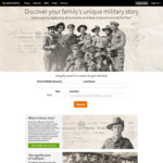 Free Access to All ANZAC Records until 26 April @ Ancestry
