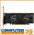 [eBay Plus] MSI GeForce GTX1650 4GT 4GB GDDR5 LP Lower Profile $255.60 Delivered @ Computer Alliance eBay