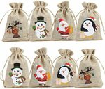 12 x Christmas Goody Gift Bags with Double Jute Drawstrings $7.99 + Delivery (Free with Prime / $39 Spend) @ Amazon AU