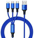 USB Multi Charging Cable for Type C/Lightning/Micro $9.89 (10% off) + Delivery ($0 with Prime/ $39 Spend) @ Luoke Amazon AU
