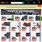 25% off Selected Product Range @ Repco
