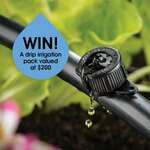 Win a Drip Irrigation Pack Worth $200 from Pope Products