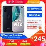 OnePlus Nord N10 5G 6GB 128GB NFC + Free Gift US$269.50 (A$384.83) @ OnePlus Official Store AliExpress
