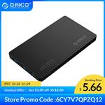 """ORICO 2588H3 2.5"""" USB 3.0 to SATA Enclosure with 3 Port USB 3.0 Hub US$6.23 (~A$8.91) Delivered @ Orico AliExpress"""
