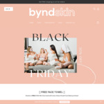 Bonus BYND Skin Face Towel with Purchase of a Hemp Infused Face Mask $55.95 Shipped @ Byndskin