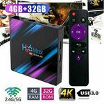 H96 MAX Android Box 4G RAM + 32GB $44.05 Delivered @ Amandadv via eBay