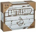 [Back Order] Battleship Rustic Series Edition $12.41 (RRP $59.99) + Delivery ($0 with Prime/ $39 Spend) @ Amazon AU