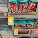 Candy Cane Peppermint/Fruit 10 Pack 150g, Candy Cane Assorted 20 Pack 100g $0.10 @ Kmart
