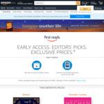 [Prime] Early Access to New Books + Choose 1 of 9 Kindle eBooks for Free (Feb 2021) @ Amazon AU