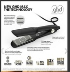 ghd Max Wide Plate Styler (New Version) $299 (RRP $320) Delivered @ Discount Salon Supplies