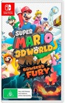 [LatitudePay, Switch] Super Mario 3D World + Bowsers Fury $47 Delivered @ Dick Smith / Kogan