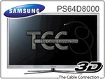 """Samsung 64"""" Plasma Sale - PS64D8000 $2599 with Postage from $34.85"""