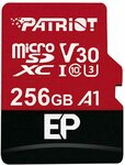 Patriot EP A1 MicroSD Card SDXC 256GB $38.99 + Delivery ($0 with Prime/ $39 Spend) @ Patriot Memory Amazon AU