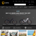 Buy 2 Bikes and Receive 10% off All NCM Models @ Leon Cycle