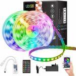 JORAGO 10m Bluetooth LED Strips Lights WiFi $24.99 (RRP $49.99) + Delivery (Free with Prime/ $39 Spend) @ Jorago via Amazon AU
