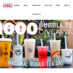 [NSW] Free Bubble Tea Friday 30/4 & Saturday 1/5 from 6pm-8pm (Facebook or IG Follow Required) @ Burwood Chinatown Grounds