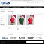 Gildan Polos 70% off + Free Shipping @ Gildan Brands