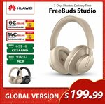 Huawei FreeBuds Studio Dynamic ANC Wireless Headphones US$197.92 (~A$256.90) Delivered @ SIMSON HW Store AliExpress