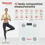Sinocare Bluetooth Digital Bathroom Body Fat Scale with App $12.99 Shipped @ Sinocareaustore eBay