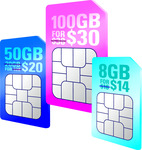 Circles.Life $10/mth off for 12 mths on all SIM Only plans: 100GB $28/mth, 50GB $18/mth, 8GB $8/mth, New Customers Only