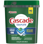 Cascade Complete 90ct Dishwashing Tablets $22.48 ($0.25/Tablet) in-Store or Delivered @ Costco (Membership Required)