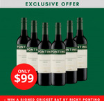 Ponting Wines The Pinnacle McLaren Vale Shiraz Case of 6 $99 (Was $162) + $9 Shipping @ Buy Aussie Now