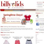 Take 15% off Storewide @Billy Lids. Online Shopping for Babies, Toddlers & Kids