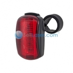 Free Shipping + 5 LED 6 Mode Multifunction Bicycle Taillight with Bracket Only $7.89